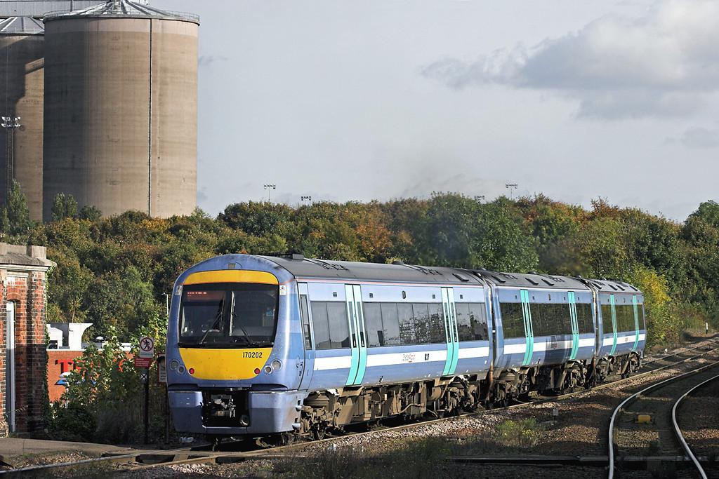 170202 Bury St Edmunds 30/10/2012<br /> 1L75 1145 Peterborough-Ipswich