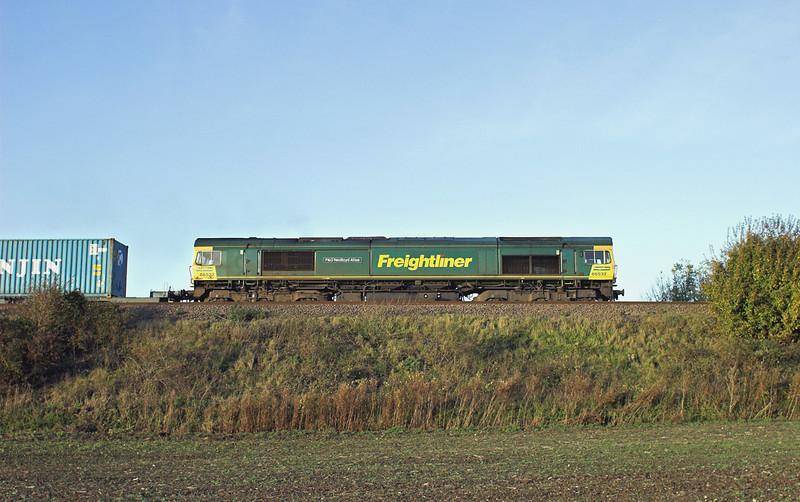 66532 Elmswell 30/10/2012<br /> 4L85 1228 Doncaster-Felixstowe FLT