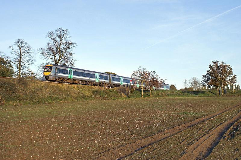 170208 Elmswell 30/10/2012<br /> 2W20 1519 Ipswich-Cambridge