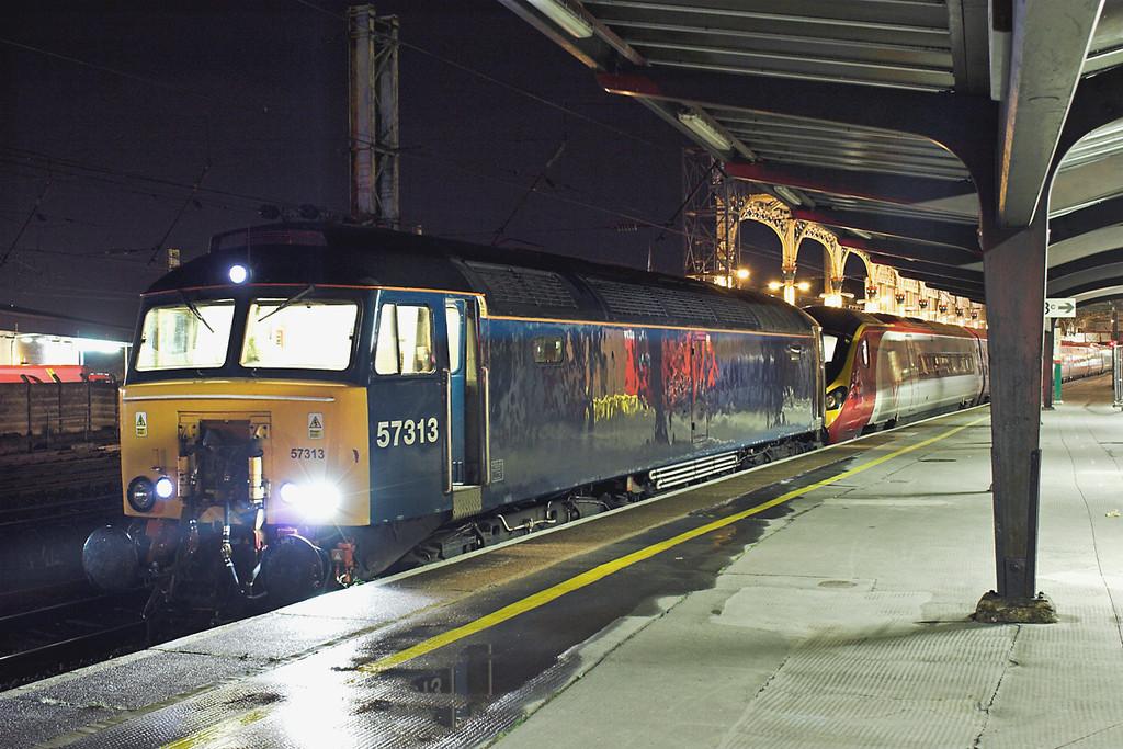57313 and 390156, Preston 31/7/2012<br /> 5H00 2306 Preston-Longsight TMD