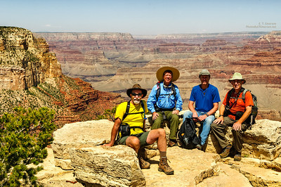 Group Shot on the South Rim