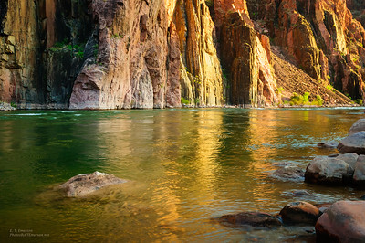 Colorado River at Sunset