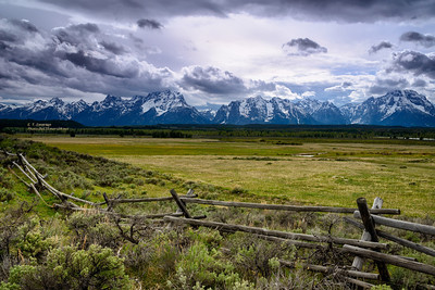 Cloudy Afternoon in the Tetons