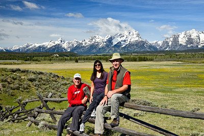 Group Shot in the Tetons