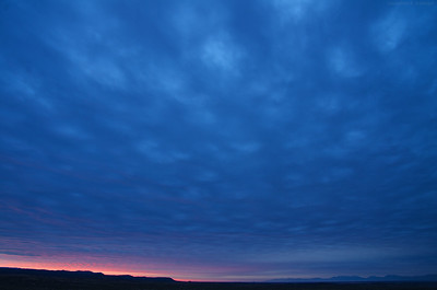 Sunrise in the Tularosa Basin