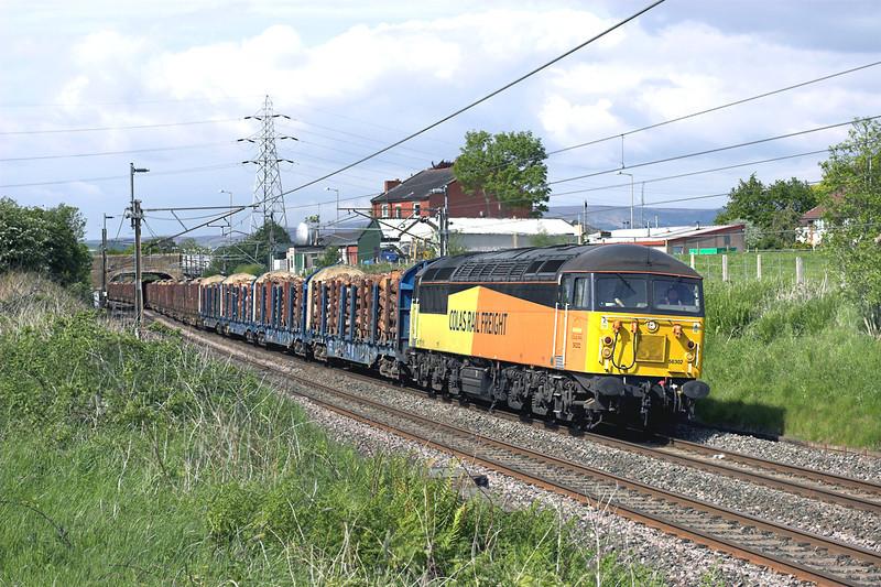 56302 Barton 3/6/2013<br /> 6J37 1244 Carlisle Yard-Chirk