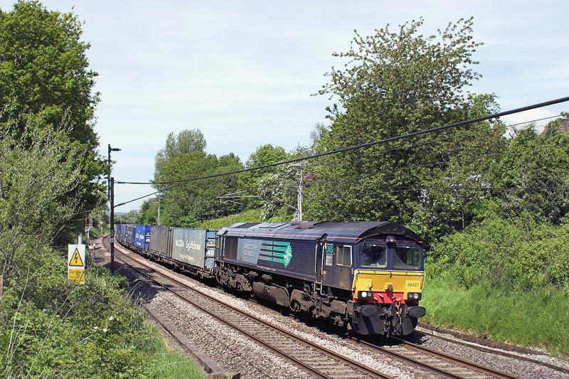 66427 Barton 3/6/2013<br /> 4M44 0847 Mossend Yard-Daventry