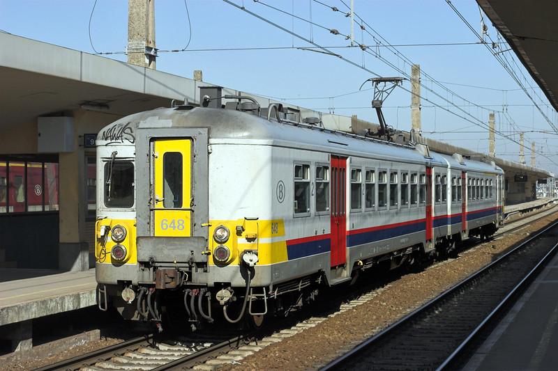 648 Bruxelles-Nord 4/3/2013<br /> R3783 1153 Leuven-Braine Le Comte