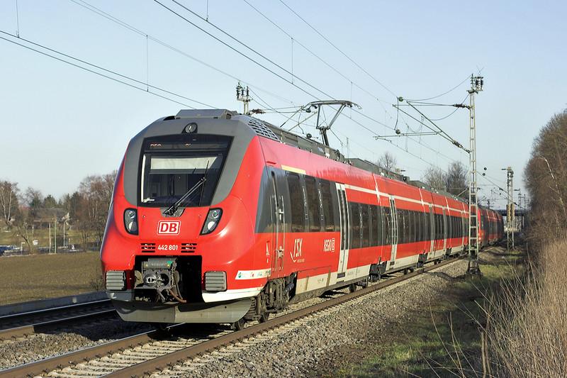 442801 Langerwehe 4/3/2013<br /> RE10923 1618 Aachen Hbf-Siegen