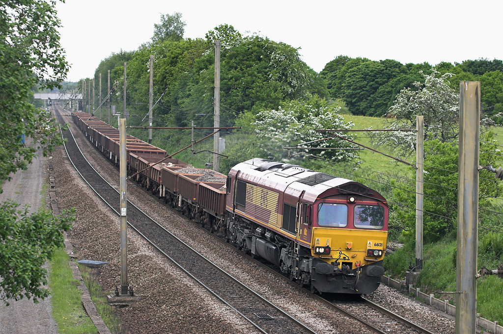 66121 Charnock Richard 5/6/2013<br /> 6K05 1218 Carlisle Yard-Basford Hall