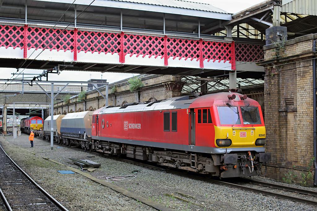 92042 Crewe 5/11/2013<br /> 6K76 0751 Bescot Yard-Crewe IEMD