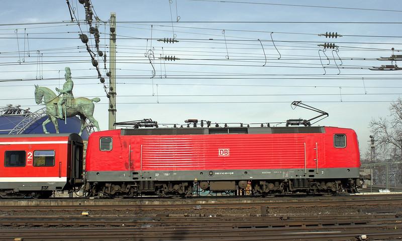 143603 Köln Hbf 6/3/2013<br /> S6 1128 Essen Hbf-Köln Nippes
