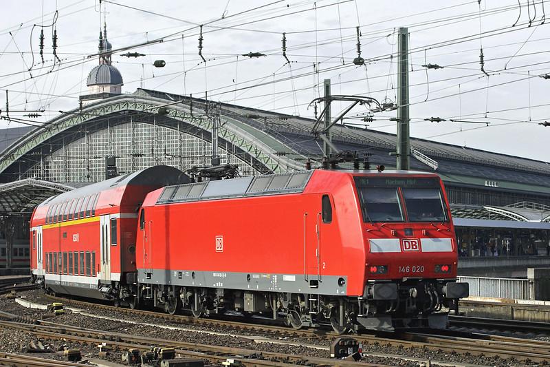 146020 Köln Hbf 6/3/2013<br /> RE10122 1122 Hamm-Aachen Hbf
