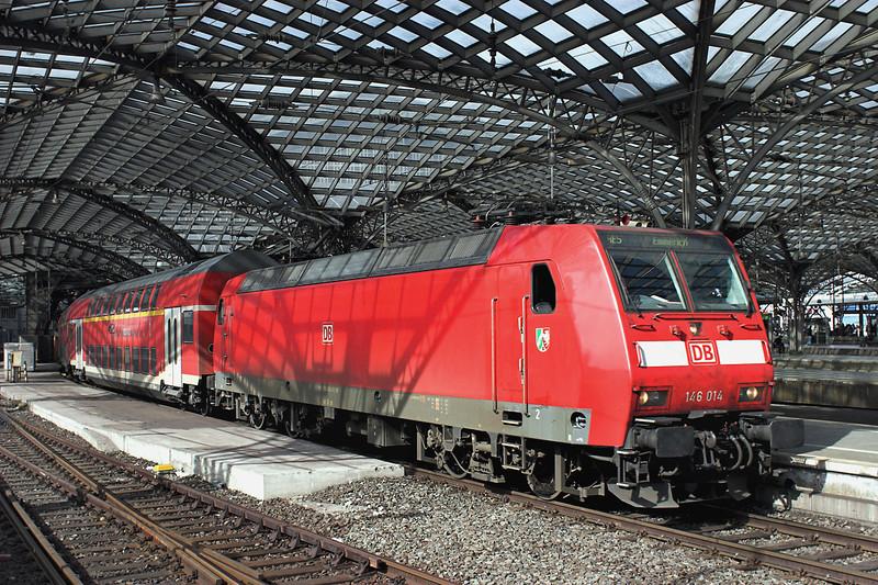 146014 Köln Hbf 6/3/2013<br /> RE10518 1216 Koblenz Hbf-Emmerich