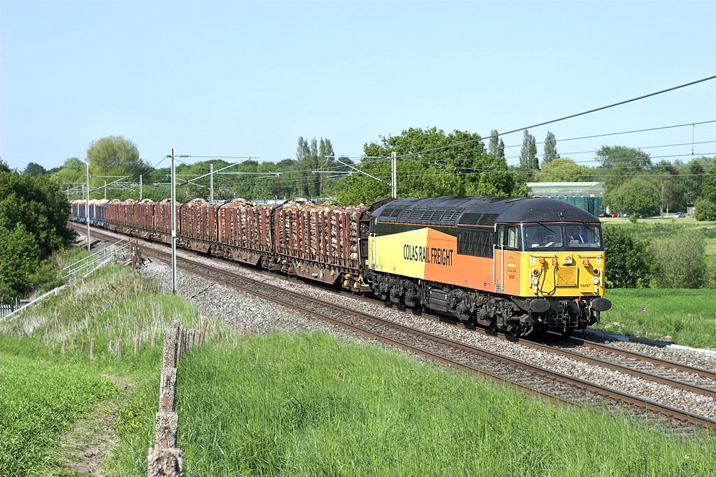 56087 Red Bank 6/6/2013<br /> 6J37 1244 Carlisle Yard-Chirk