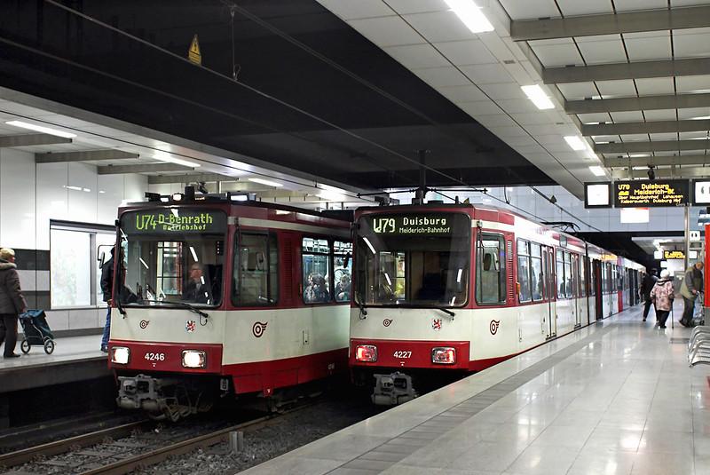 4246 and 4227, Oberbilker Markt 7/3/2013