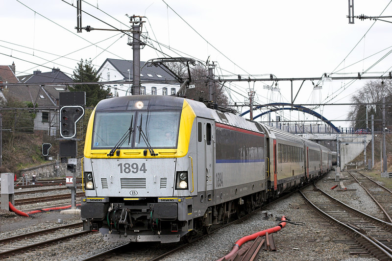 1894 Welkenraedt 7/3/2013<br /> IC536 1315 Eupen-Oostende