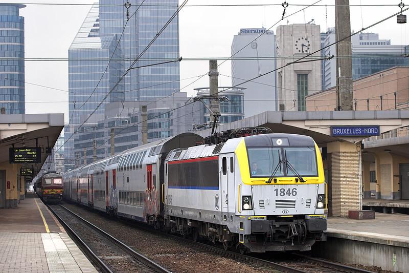 1846 Bruxelles-Nord 7/3/2013<br /> IR3914 1416 Binche-Louvain La Neuve Uni
