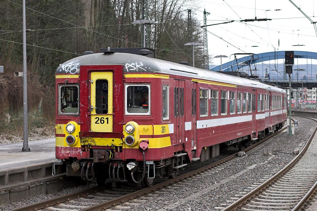 261 Aachen Hbf 7/3/2013<br /> IR5011 1133 Liège Guilliemins-Aachen Hbf