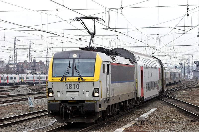 1810 Bruxelles-Nord 7/3/2013<br /> IR3737 1536 Bruxelles Nat Aéroport-Quevy