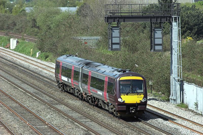 170520 Washwood Heath 7/5/2013<br /> 1M01 0845 Cardiff Central-Nottingham