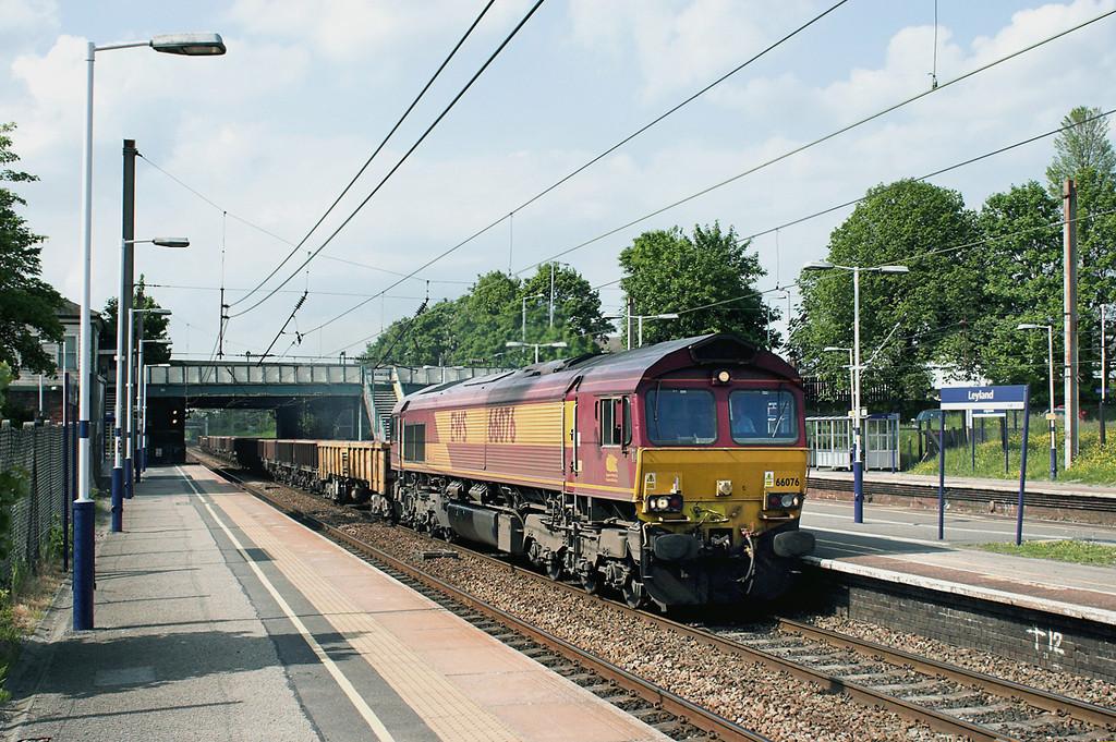 66076 Leyland 7/6/2013<br /> 6K05 1218 Carlisle Yard-Basford Hall
