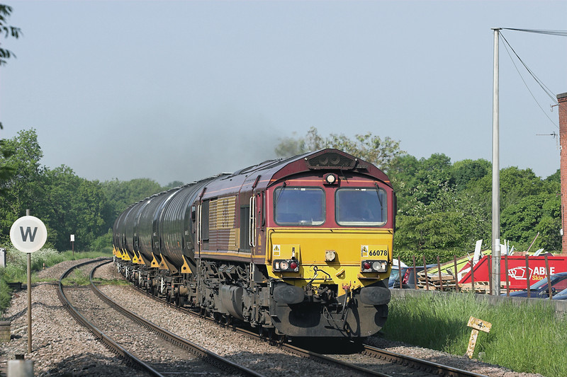 66078 Gregson Lane 7/6/2013<br /> 6E32 0855 Preston Docks-Lindsey OR
