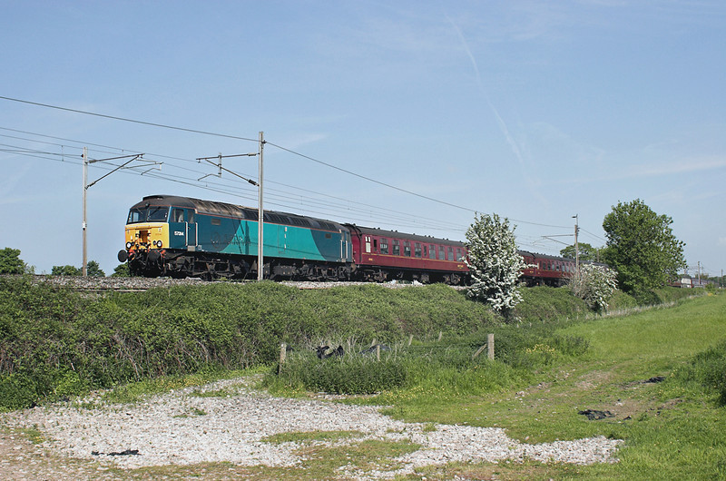 57314 Brock 7/6/2013<br /> 5Z33 0830 Carnforth-Derby