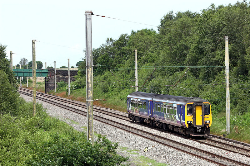 156461 Standish 8/7/2013<br /> 2F55 1237 Blackpool North-Liverpool South Parkway