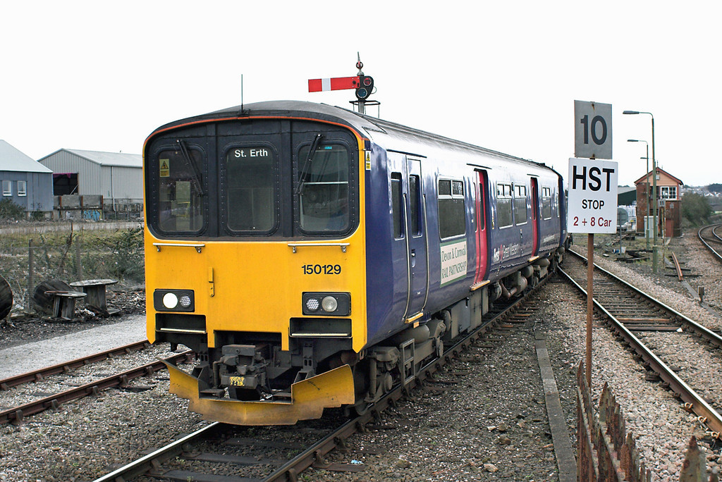 150129 St Erth 9/4/2013<br /> 2A14 1103 St Ives-St Erth