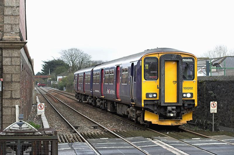 150202 Camborne 9/4/2013<br /> 2C43 0624 Bristol Parkway-Penzance