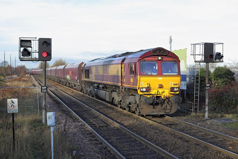 66183 Worksop 9/12/2013<br /> 4R15 0820 Cottam PS-Immingham Coal Terminal