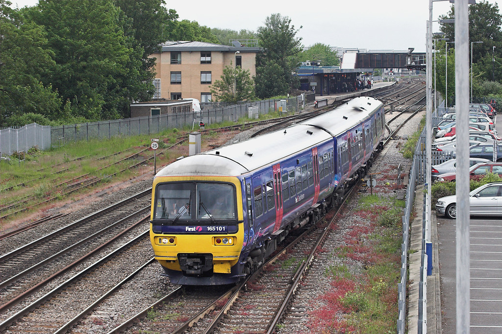 165101 Oxford 10/6/2013<br /> 1P30 0931 Oxford-London Paddington