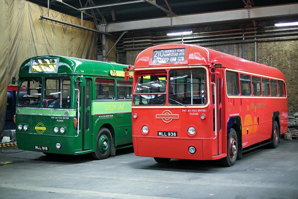 RF518 MLL936 and RF281 MLL818, Holloway Garage 10/8/2013