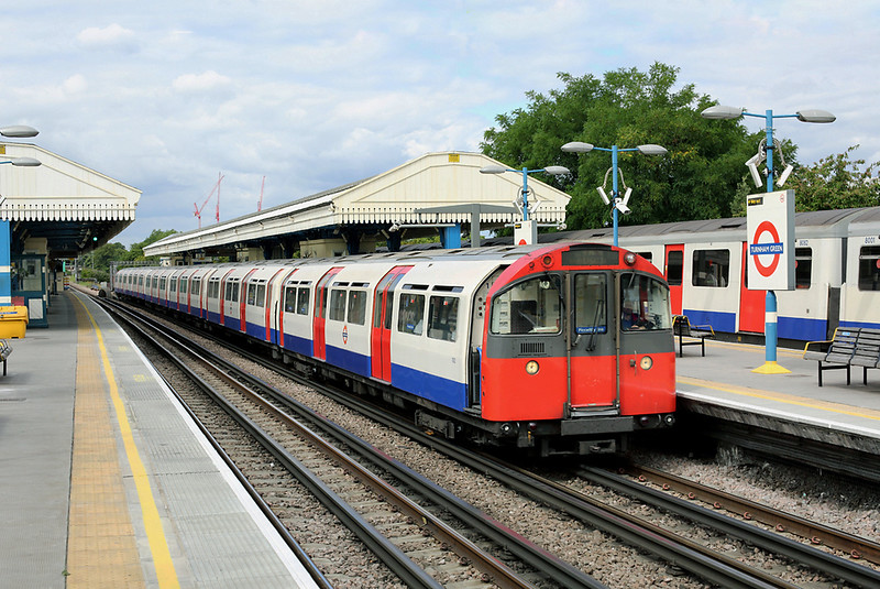Piccadilly Line 100, Turnham Green 10/8/2013
