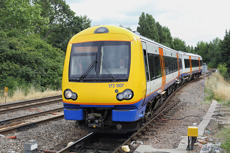 172007 Gospel Oak 10/8/2013<br /> 2J52 1310 South Tottenham-Gospel Oak
