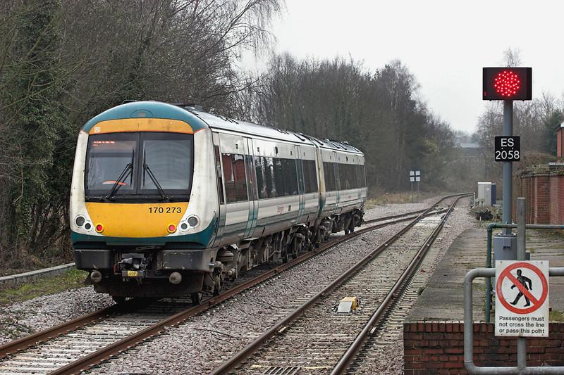 170273 Beccles 11/4/2013<br /> 2D79 1107 Lowestoft-Ipswich
