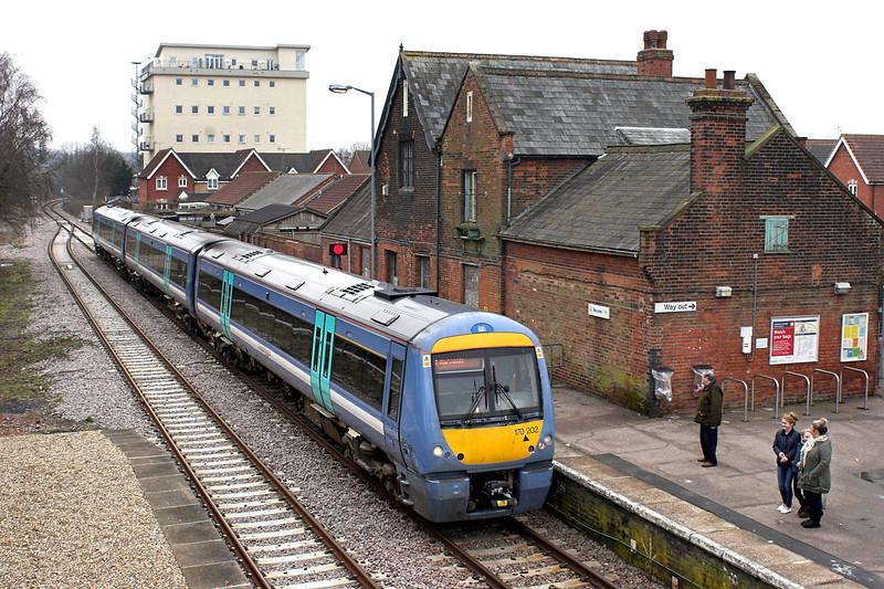 170202 Beccles 11/4/2013<br /> 2D76 1117 Ipswich-Lowestoft