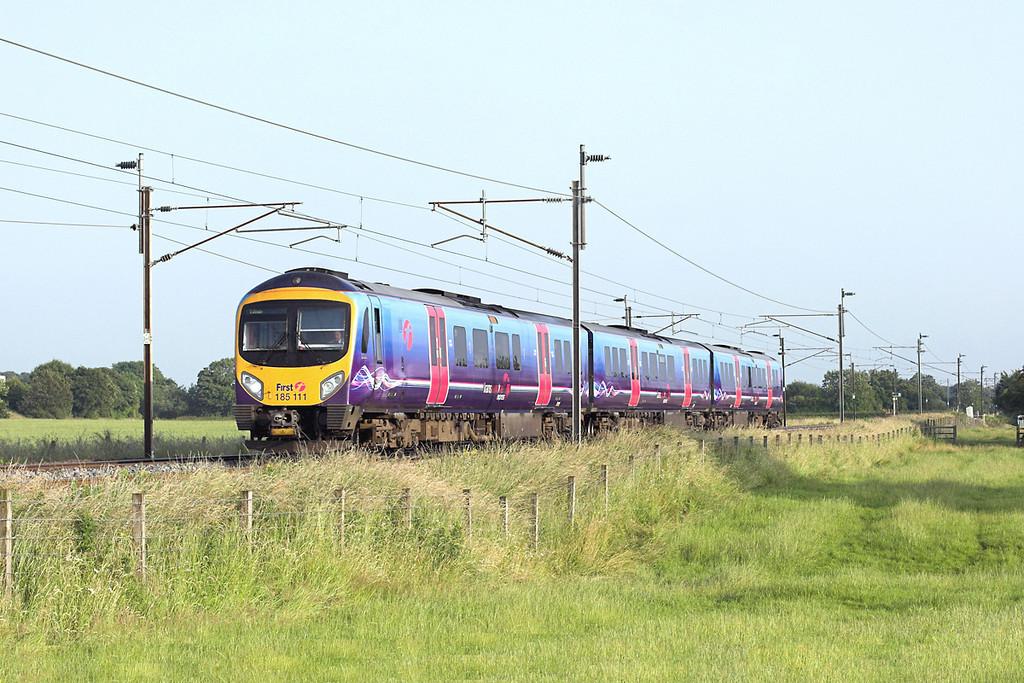 185111 Brock 11/7/2013<br /> 1S83 1800 Manchester Airport-Edinburgh