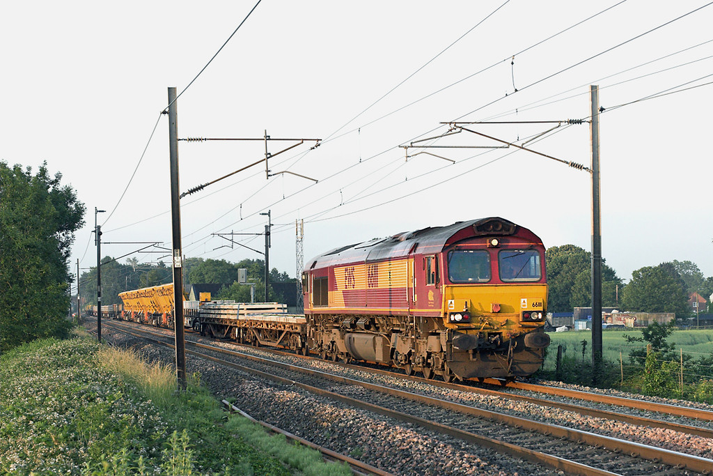 66111 Brock 11/7/2013<br /> 6C02 0422 Basford Hall-Carlisle Yard