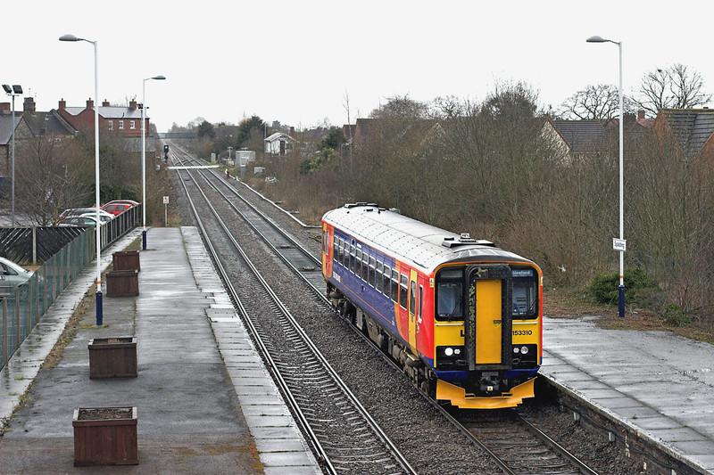153310 Spalding 12/4/2013<br /> 2K98 1148 Peterborough-Sleaford