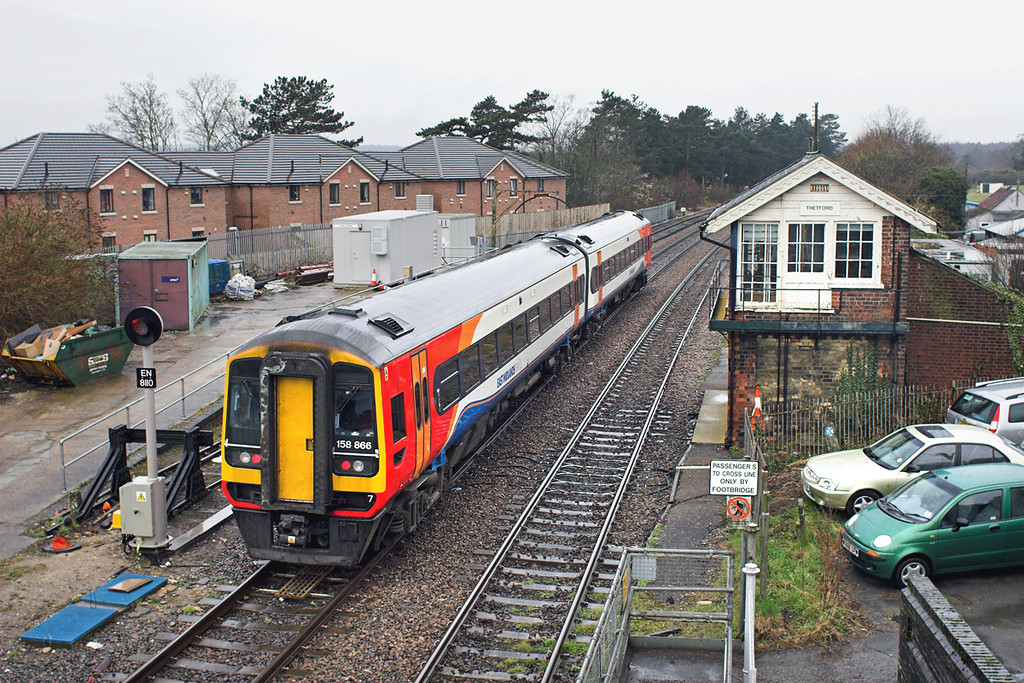 158866 Thetford 12/4/2013<br /> 1R70 0757 Norwich-Liverpool Lime Street