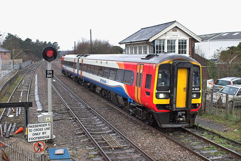 158863 Thetford 12/4/2013<br /> 1L02 0609 Nottingham-Norwich