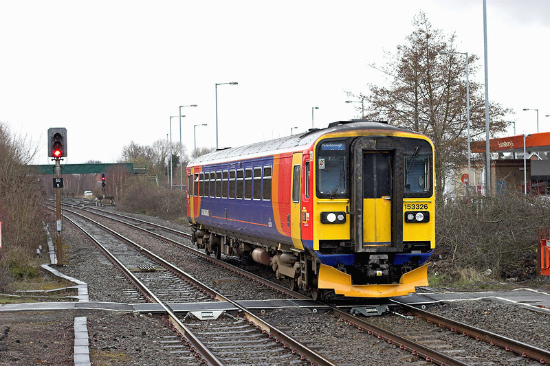 153326 Spalding 12/4/2013<br /> 2K23 1142 Sleaford-Peterborough