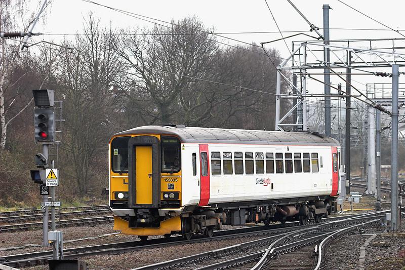 153335 Norwich 12/4/2013<br /> 2S03 0636 Sheringham-Norwich