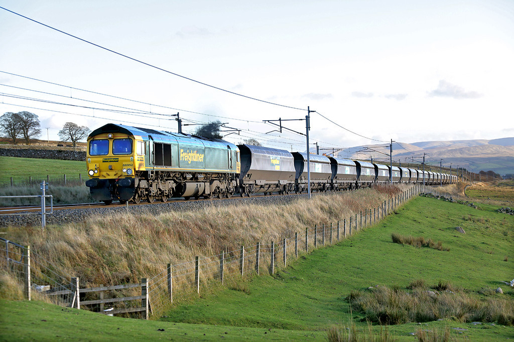 66952 Shap Wells 12/11/2013<br /> 4S42 0930 Fiddlers Ferry PS-Hunterston