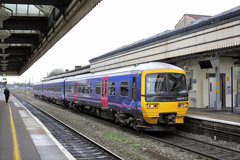 165110 Maidenhead 13/12/2013<br /> 2P43 1118 Reading-London Paddington