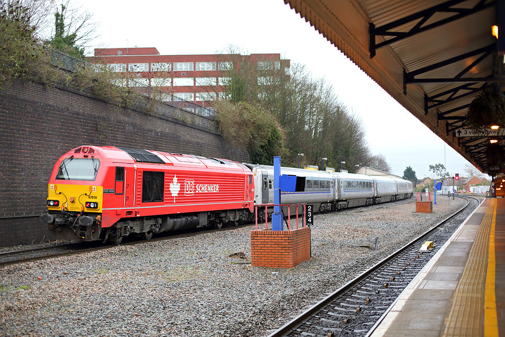 67018 High Wycombe 13/12/2013<br /> 1H55 1312 Birmingham Snow Hill-London Marylebone