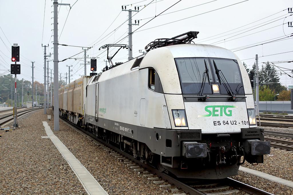 ES64 U2-101, St Pölten Hbf 14/10/2013