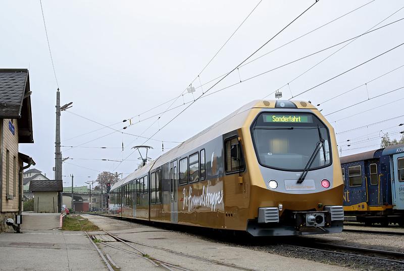 ET4 St Pölten Alpenbahnhof 14/10/2013